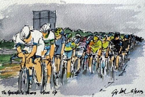 The Sprinter's Teams Move Up