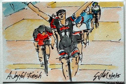 A Joyful Finish by Greig Leach