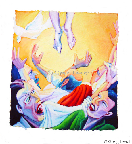 The Ascension of Jesus (large view)