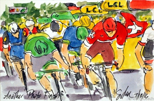 Another Photo Finish TdF118 by Greig Leach