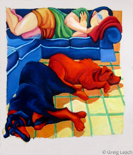 Let Sleeping Dogs Lie by Greig Leach