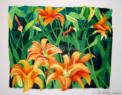 Ditch Lilies (large view)