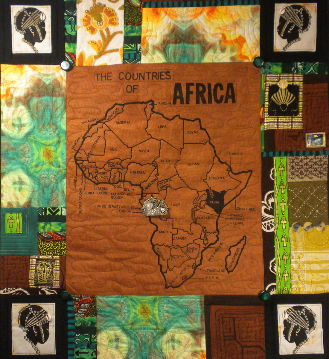 Africa Map Series #1 (large view)