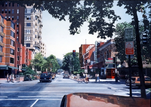 Q Street by glenn moreton -- contemporary realism