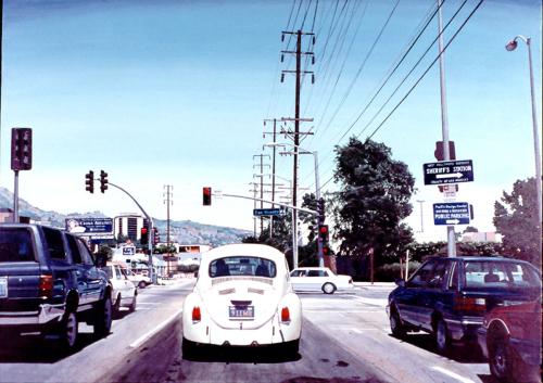 West Hollywood Wagon by glenn moreton -- contemporary realism