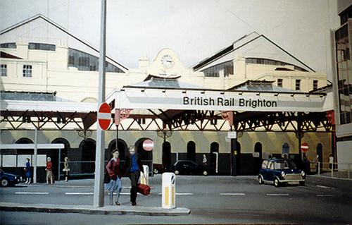 Brighton -- Britrail