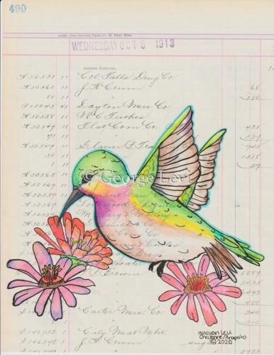 Hummingbird by George Curtis Levi