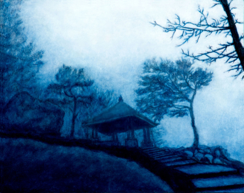 Blue Bamboo Nights by Gloria E. Moses