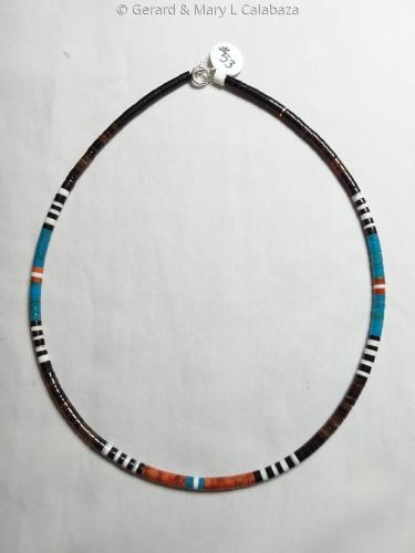 16 Multicolor Necklace by Gerard Jr.
