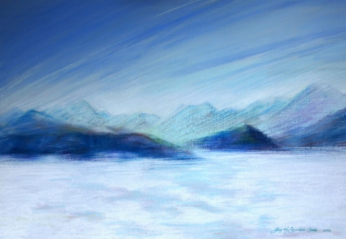 Cumulus trail by Greg Cruise
