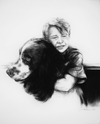 Toby & Finley - a boy and his dog
