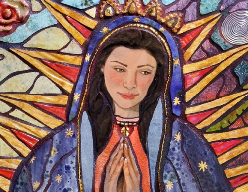"Ginny Moss Rothwell ""Guadalupe"" (large view)"
