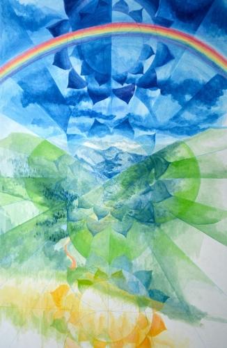 Colorado Rainbow Mandala