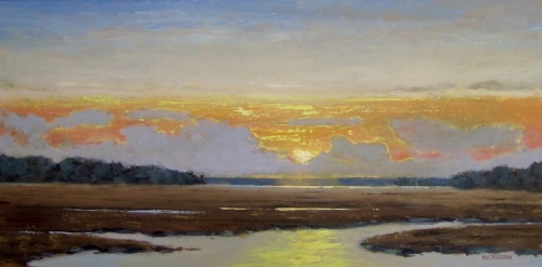 Late Fall Marsh by George Netherton