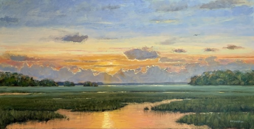 Late Summer Evening by George Netherton