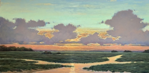 Marsh Ribbons by George Netherton