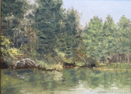 Danny's Pond by George Netherton
