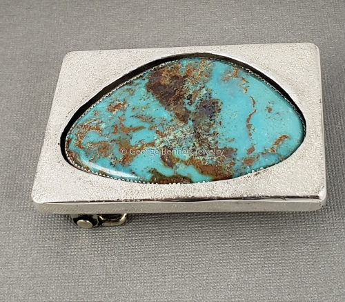 Turquoise in Shadowbox