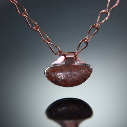 Copper in Matrix with Copper Chain