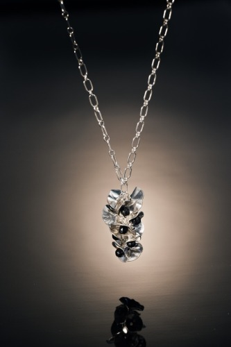 Sterling Silver Bloossom Pendant and chain
