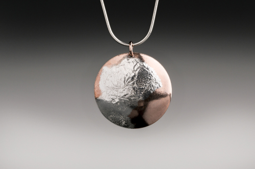 Sterling Fused on Copper by Meridith Merwald-Gofta