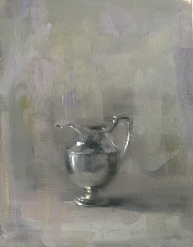 Pitcher in Silver