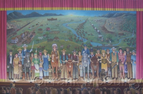 curtain call for the old west