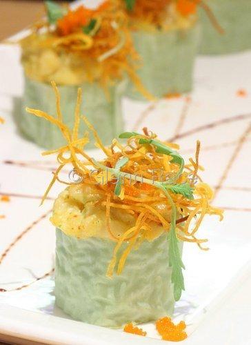 Shrimp Scallop Roll