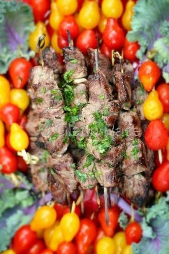 Chicken & Lamb Shish Kabob by Glenn Race