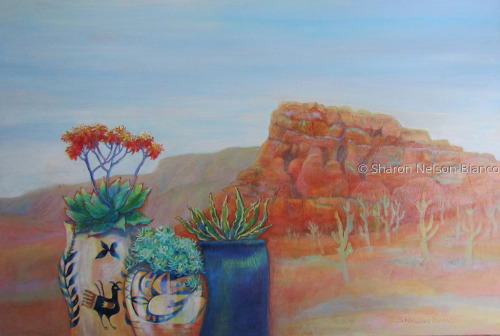"""Pottery With A View"": ARIZONA TWO by Sharon Nelson-Bianco"