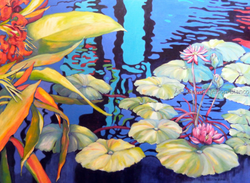 Pond 1 by Sharon Nelson-Bianco