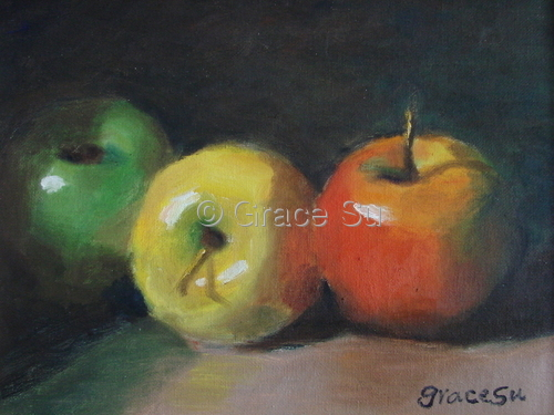 Apples by Grace Su