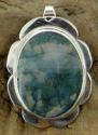 Moss Agate Pendant (thumbnail)