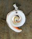Shell on Copper Pendant (thumbnail)