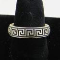 Greek Key Band Ring (thumbnail)
