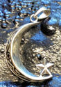 Crescent Moon with Star Pendant (thumbnail)