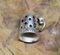 Sterling Thimble Charm (thumbnail)