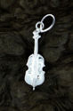 Stand Up Bass Fiddle Pendant (thumbnail)