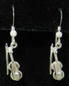 Fiddle Dangle Earrings (thumbnail)