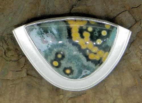 Ocean Jasper Pendant (large view)