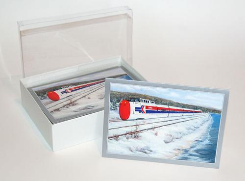1971 Turbo Train -notecards