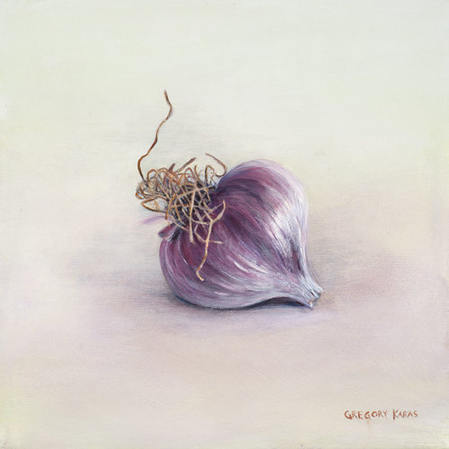 Garlic-Purple Stripe