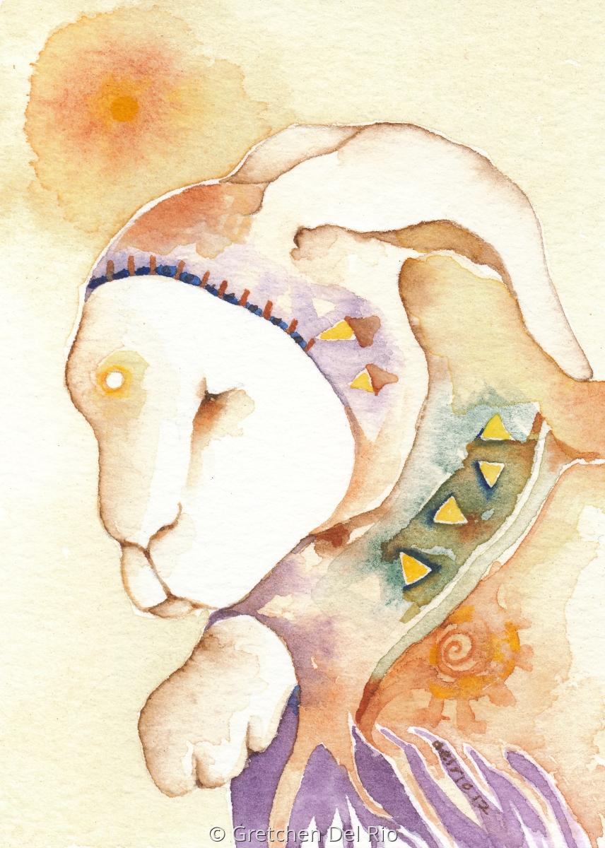 Gretchen Del Rio Grandfather Rabbit (large view)