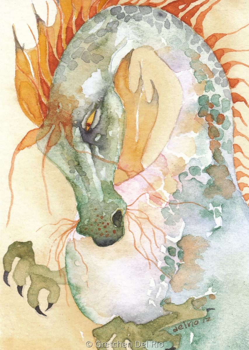 Gretchen Del Rio Apple Dragon (large view)