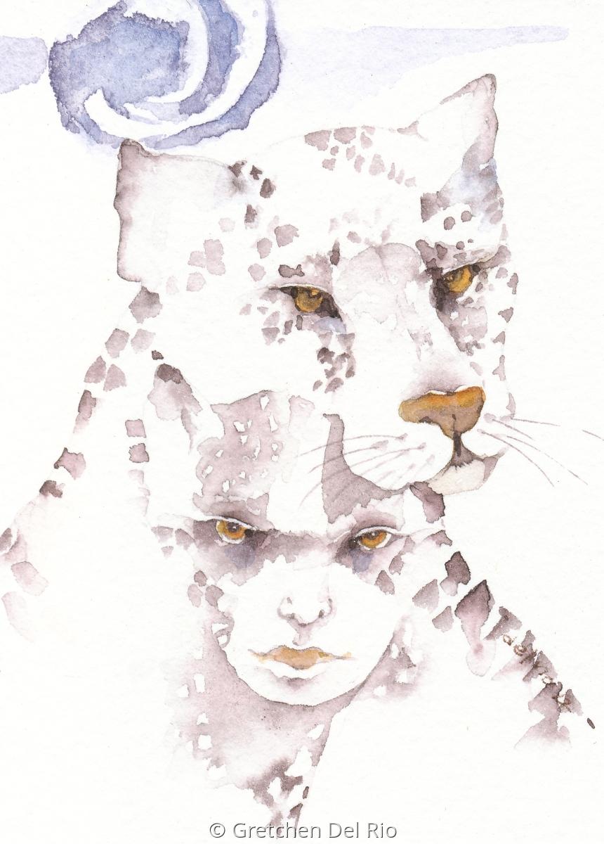 Gretchen Del Rio 'Heart of the Jaguar' (large view)