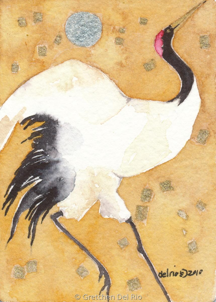 Japanese Crane (large view)
