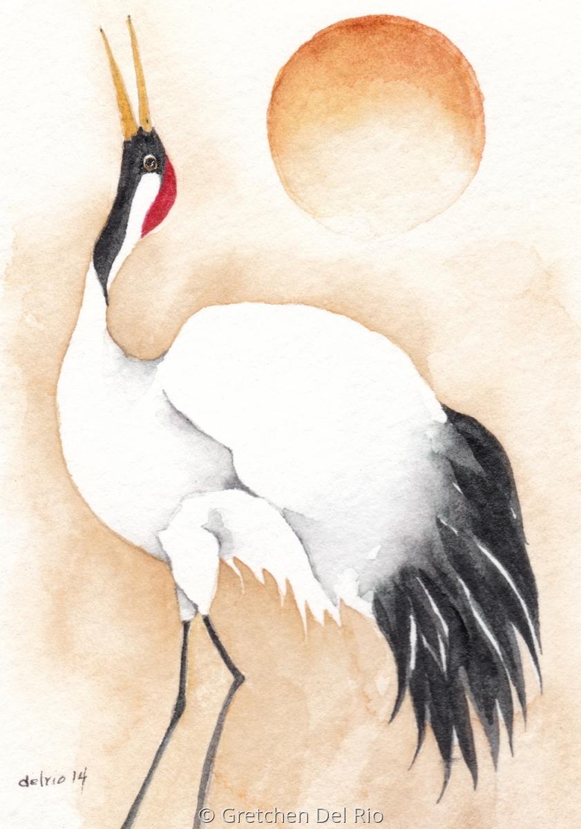 Dancing Crane (large view)
