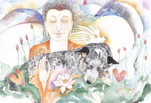 'Dreaming Buddha'