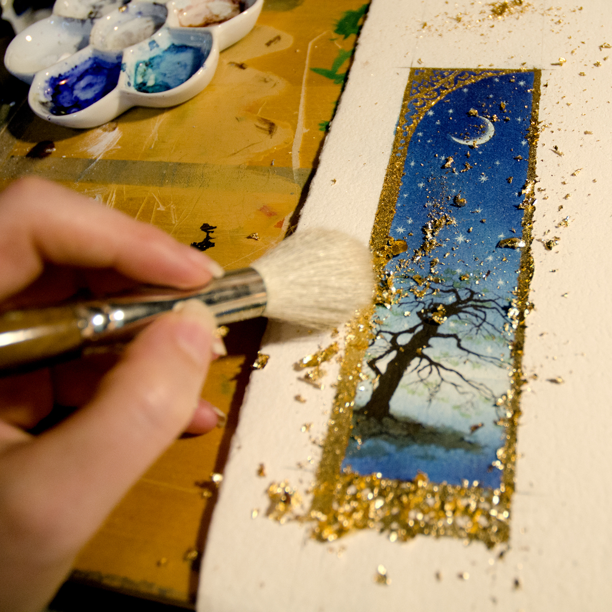 Working title: Moon and Trees (large view)