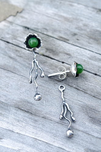 Root and Seed Earrings